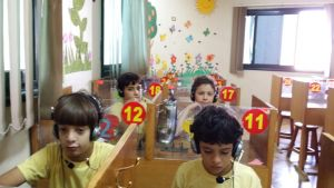 : 4th Primary Students in the Phonice LAB.2016/2017